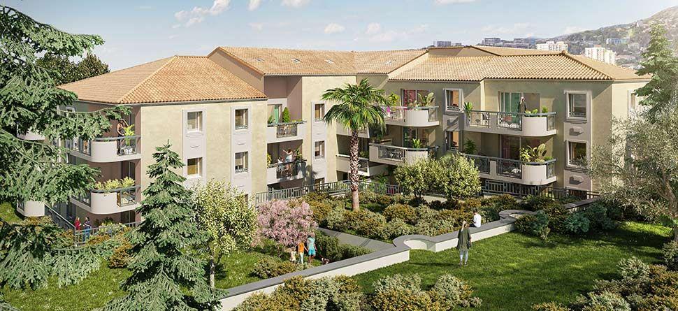 Résidence Allegria à Toulon Bas Faron