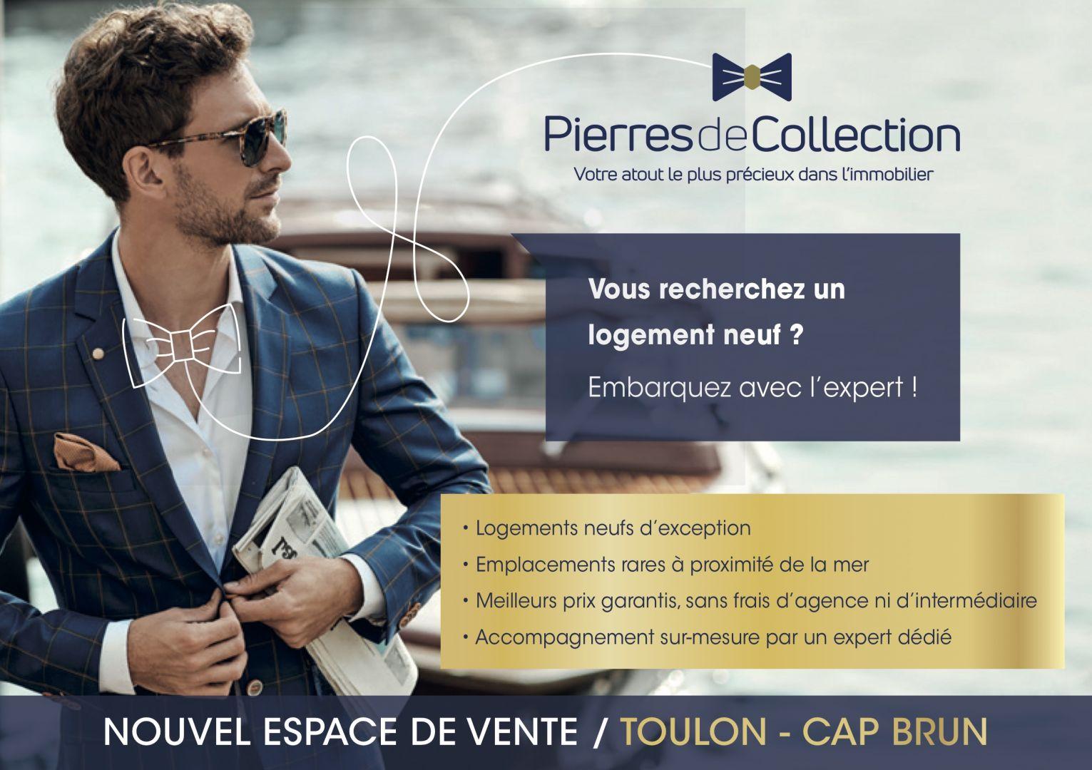 A Toulon – Cap Brun, votre appartement neuf pour vivre ou investir à deux pas des plages!